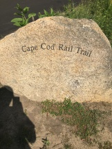 Cape Cod Rail Trail Marker