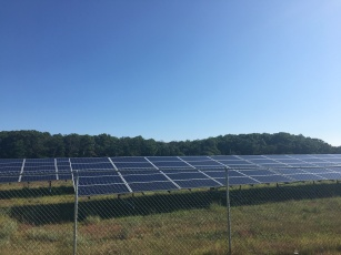 Solar panels, Plymouth, MA