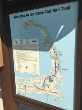 Map, Cape Cod Rail Trail