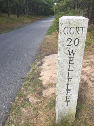 Wellfleet mile marker
