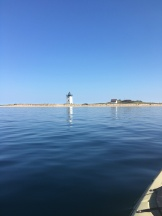 Long Point Lighthouse from the Water